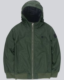 0 Dulcey Boy - Hooded Jacket Green L2JKA5ELF8 Element