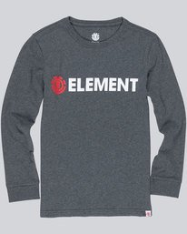 0 Blazin Ls Boy - Tee Shirt for Boys  L2LSA3ELF8 Element