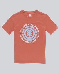 0 Seal Ss Boy - Tee Shirt for Boys Red L2SSA3ELF8 Element
