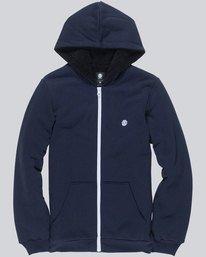 0 Bolton Boy - Zip-Up Hoodie Blue L2WAA1ELF8 Element