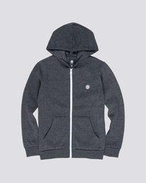 0 Cornell Classic Boy - Zip-Up Hoodie Grey L2ZHA1ELF8 Element