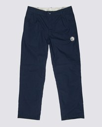 0 Element by Nigel Cabourn Reversible Cricket Pant Blue M3311ERE Element