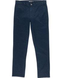 0 Howland Classic Chino Pant Blue M3373EHO Element