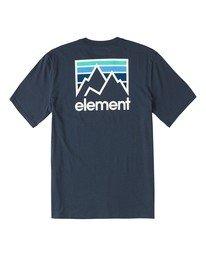 0 Joint T-Shirt Blue M4013EJO Element