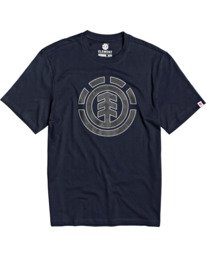 0 Resist Icon Fill T-Shirt Blue M4013ERS Element
