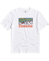 0 Wander T-Shirt White M4013EWA Element