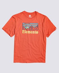 0 Wander T-Shirt Red M4013EWA Element