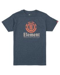 0 Vert Push T-Shirt Blue M401HVEM Element