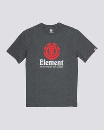 0 Vertical T-Shirt Grey M401QEVE Element