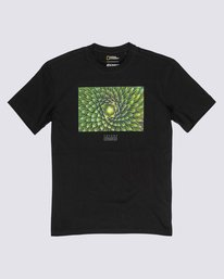 0 Nat Geo Spiral T-Shirt Blue M4061ESP Element