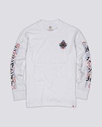 0 Yarbo Long Sleeve T-Shirt White M4801EYA Element