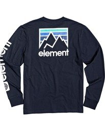 1 Joint II Long Sleeve T-Shirt Blue M4803EJ2 Element