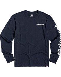 0 Joint II Long Sleeve T-Shirt Blue M4803EJ2 Element