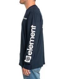 3 Joint II Long Sleeve T-Shirt Blue M4803EJ2 Element
