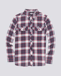 0 Wild Long Sleeve Shirt Red M561TEWI Element