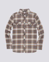 0 Wild Long Sleeve Shirt Grey M561TEWI Element