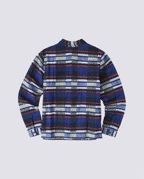 1 Americana Long Sleeve Flannel Blue M5623EAM Element