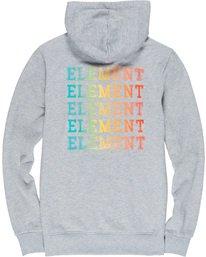 6 Drop Hoodie Grey M653VEDR Element