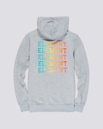 1 Drop Hoodie Grey M653VEDR Element