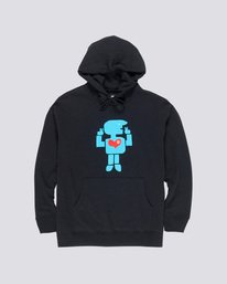 0 Donny Barley Hoodie Blue M659VEBA Element