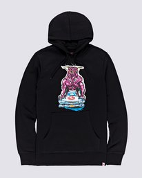 0 Crushed Hoodie Blue M6653ECR Element