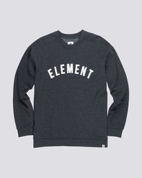 0 Melting Crew Neck Fleece Grey M665QEMC Element