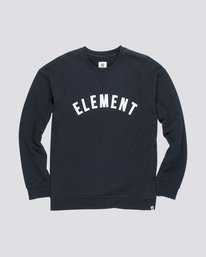 0 Melting Crew Neck Fleece Black M665QEMC Element