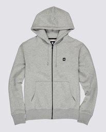 0 92 Zip-Up Hoodie Grey M6781E9Z Element