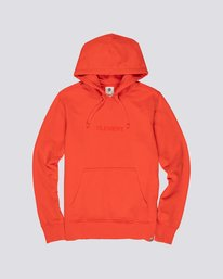 0 Neon Flock Hoodie Red M6851EFR Element
