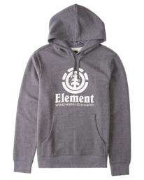 0 Vertical Hoodie Grey M6941EVH Element