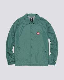 0 Yawye Coach Jacket Green M712NEYJ Element