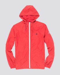 0 Alder Travel Well Jacket Red M722QEAT Element