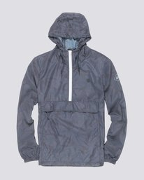 0 Alder Popover Travel Well Jacket White M723QEAP Element