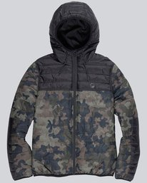 0 Alder Puff Travel Well Jacket  M724QEPT Element