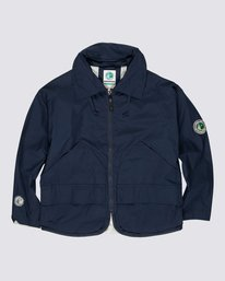 0 Element by Nigel Cabourn Alder 4 Jacket Blue M7261EAU Element