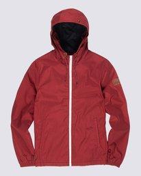 0 Alder Jacket Red M726QEAL Element