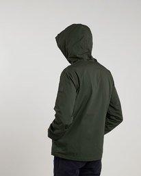 3 Alder Jacket Green M726QEAL Element