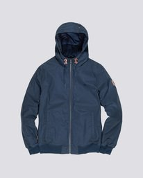 0 Dulcey Jacket Blue M731QEDU Element