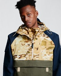 1 Vertically Basic Po Jacket Green M731VEGF Element