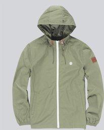 0 Alder Light Jacket Green M751JALD Element