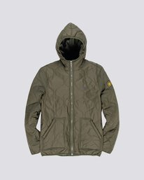 0 Albee Jacket Green M789VEAL Element