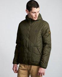 1 Davis 2 T-Shirt Jacket Green M789VEAL Element