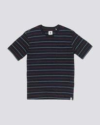 0 Stripes Basic Tee Blue M912VEBS Element