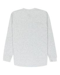 1 Barry Long Sleeve Shirt Grey M961VEBA Element