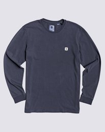 0 Sunny Wash Long Sleeve Shirt Blue M9784ESU Element