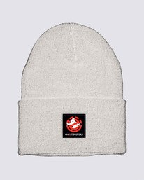0 Ghostbusters Dusk Beanie White MABN3EGB Element