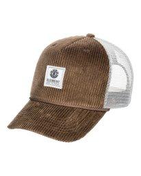 0 Bark Trucker Hat Brown MAHT3EBA Element