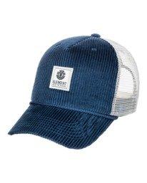 0 Bark Trucker Hat Blue MAHT3EBA Element