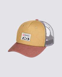 0 Icon Trucker Hat Brown MAHT3EIC Element