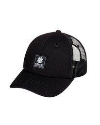 0 Icon Trucker Hat Black MAHT3EIC Element
